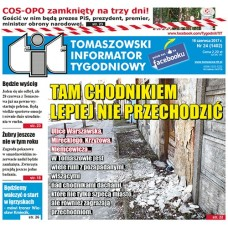 TIT - Tomaszowski Informator Tygodniowy nr 24 (1402) z 16 czerwca 2017r.