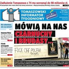TIT - Tomaszowski Informator Tygodniowy nr 27 (1405) z 7 lipca 2017r.
