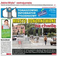 TIT - Tomaszowski Informator Tygodniowy nr 28 (1406) z 14 lipca 2017r.