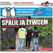 TIT - Tomaszowski Informator Tygodniowy nr 29 (1407) z 21 lipca 2017r.