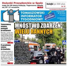 TIT - Tomaszowski Informator Tygodniowy nr 34 (1412) z 25 sierpnia 2017r.