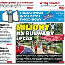 TIT - Tomaszowski Informator Tygodniowy nr 36 (1414) z 8 września 2017r.