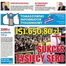 TIT - Tomaszowski Informator Tygodniowy nr 3 (1381) z 20 stycznia 2017r.