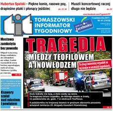 TIT - Tomaszowski Informator Tygodniowy nr 41 (1419) z 13 października 2017r.