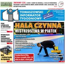 TIT - Tomaszowski Informator Tygodniowy nr 43 (1421) z 27 października 2017r.