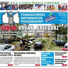 TIT - Tomaszowski Informator Tygodniowy nr 44 (1422) z 3 listopada 2017r.