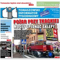TIT - Tomaszowski Informator Tygodniowy nr 47 (1425) z 24 listopada 2017r.