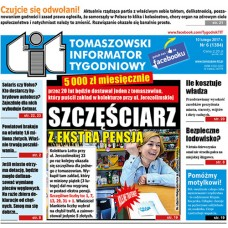 TIT - Tomaszowski Informator Tygodniowy nr 6 (1384) z 10 lutego 2017r.