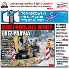 TIT - Tomaszowski Informator Tygodniowy nr 15 (1445) z 13 kwietnia 2018r.