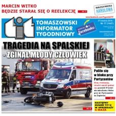 TIT - Tomaszowski Informator Tygodniowy nr 17 (1447) z 27 kwietnia 2018r.