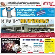 TIT - Tomaszowski Informator Tygodniowy nr 1 (1431) z 5 stycznia 2018r.