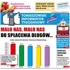 TIT - Tomaszowski Informator Tygodniowy nr 21 (1451) z 25 maja 2018r.