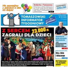 TIT - Tomaszowski Informator Tygodniowy nr 22 (1452) z 1 czerwca 2018r.