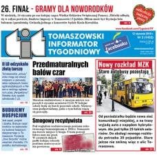 TIT - Tomaszowski Informator Tygodniowy nr 2 (1432) z 12 stycznia 2018r.