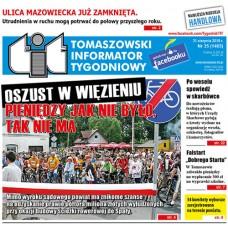 TIT - Tomaszowski Informator Tygodniowy nr 35 (1465) z 31 sierpnia 2018r.