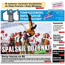 TIT - Tomaszowski Informator Tygodniowy nr 38 (1468) z 21 września 2018r.