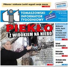 TIT - Tomaszowski Informator Tygodniowy nr 40 (1470) z 5 października 2018r.