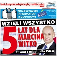TIT - Tomaszowski Informator Tygodniowy nr 43 (1473) z 26 października 2018r.