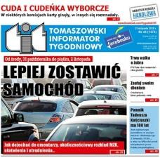 TIT - Tomaszowski Informator Tygodniowy nr 44 (1474) z 2 listopada 2018r.