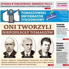 TIT - Tomaszowski Informator Tygodniowy nr 45 (1475) z 9 listopada 2018r.