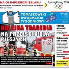 TIT - Tomaszowski Informator Tygodniowy nr 6 (1436) z 9 lutego 2018r.