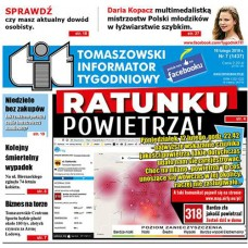 TIT - Tomaszowski Informator Tygodniowy nr 7 (1437) z 16 lutego 2018r.