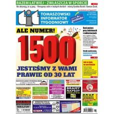 TIT - Tomaszowski Informator Tygodniowy nr 18 (1500) z 3 maja 2019r.