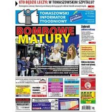 TIT - Tomaszowski Informator Tygodniowy nr 19 (1501) z 10 maja 2019r.