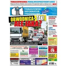TIT - Tomaszowski Informator Tygodniowy nr 43 (1525) z 25 października 2019r.