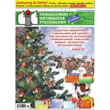 TIT - Tomaszowski Informator Tygodniowy nr 51/52 (1533/1534) z 20 grudnia 2019r.