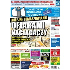 TIT - Tomaszowski Informator Tygodniowy nr 8 (1542) z 21 lutego 2020r.