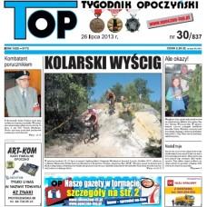 TOP - Tygodnik Opoczyński nr 30 (837) z 26 Lipca 2013 r.