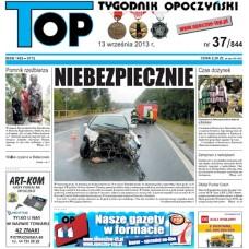 TOP - Tygodnik Opoczyński nr 37 (844) z 13 Września 2013 r.