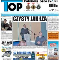 TOP - Tygodnik Opoczyński nr 11 (870) z 14 marca 2014 r.