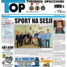 TOP - Tygodnik Opoczyński nr 13 (872) z 28 marca 2014 r.