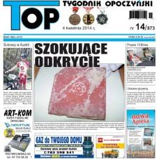 TOP - Tygodnik Opoczyński nr 14 (873) z 4 kwietnia 2014 r.
