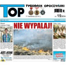 TOP - Tygodnik Opoczyński nr 15 (874) z 11 kwietnia 2014 r.
