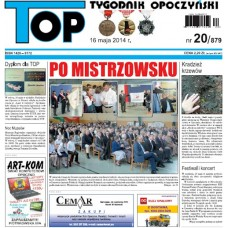 TOP - Tygodnik Opoczyński nr 20 (879) z 16 maja 2014 r.