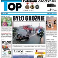 TOP - Tygodnik Opoczyński nr 21 (880) z 23 maja 2014 r.