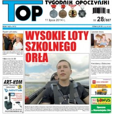 TOP - Tygodnik Opoczyński nr 28 (887) z 11 lipca 2014 r.