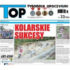 TOP - Tygodnik Opoczyński nr 33 (892) z 15 sierpnia 2014 r.