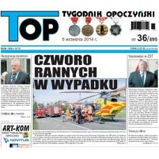 TOP - Tygodnik Opoczyński nr 36 (895) z 5 września 2014 r.