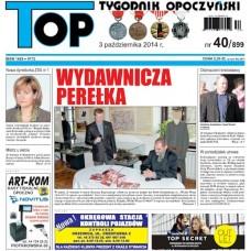 TOP - Tygodnik Opoczyński nr 40 (899) z 3 października 2014 r.