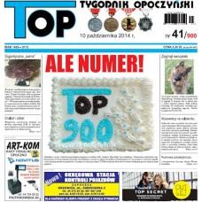 TOP - Tygodnik Opoczyński nr 41 (900) z 10 października 2014 r.