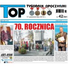 TOP - Tygodnik Opoczyński nr 42 (901) z 17 października 2014 r.