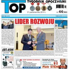 TOP - Tygodnik Opoczyński nr 44 (903) z 31 października 2014 r.