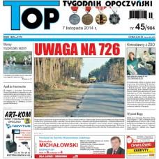 TOP - Tygodnik Opoczyński nr 45 (904) z 7 listopada 2014 r.