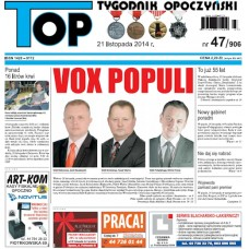 TOP - Tygodnik Opoczyński nr 47 (906) z 21 listopada 2014 r.
