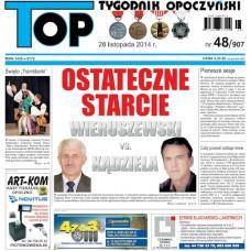 TOP - Tygodnik Opoczyński nr 48 (907) z 28 listopada 2014 r.