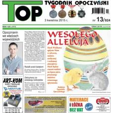 TOP - Tygodnik Opoczyński nr 13 (924) z 3 kwietnia 2015 r.